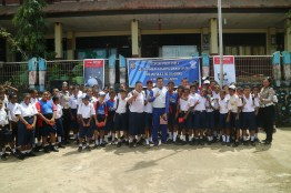 CSR_Safety Riding Astra Motor Papua Goes to School 2018_SMP YPK PAULUS