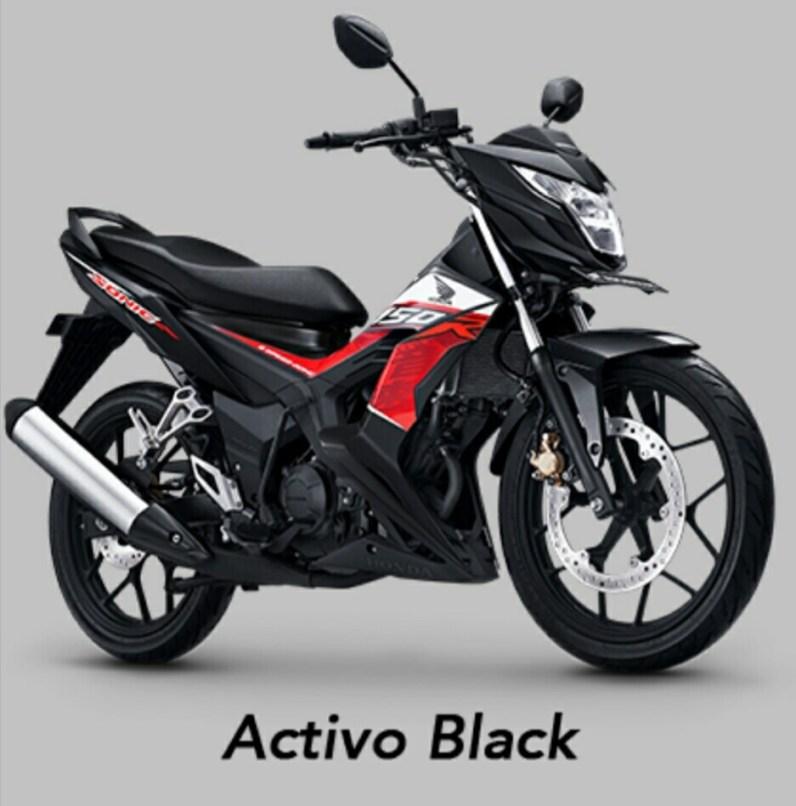 Activo Black - Warna baru Honda Sonic 150R MY 2019