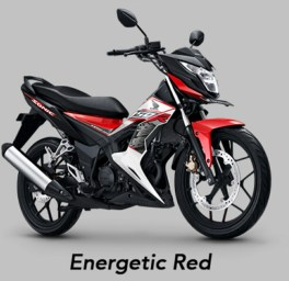 Energetic Red - Warna baru Honda Sonic 150R MY 2019