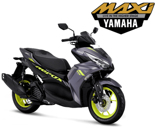 All New Aerox Conected Dark Grey Yellow.png