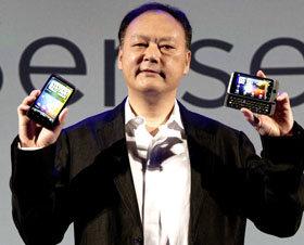Peter Chou, CEO de HTC, premio HTC