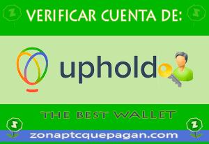 Verificar cuenta uphold