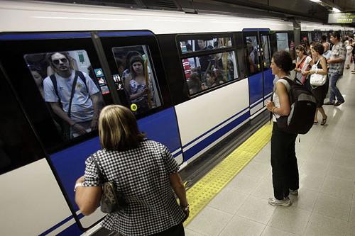 Huelga de Metro en Madrid