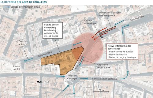 Gráfico realizado por el diario El País