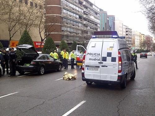 Escenario del accidente - EM