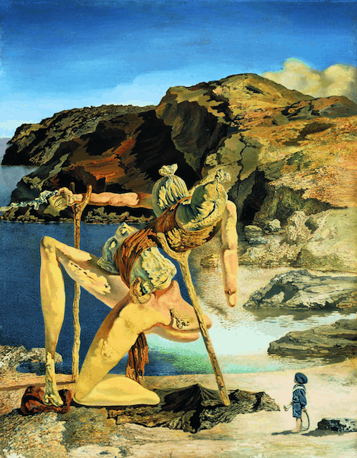 'Le spectre du sexappeal ou les frustrations sexuelles' de Dalí