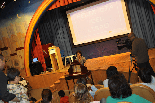 Día del Libro en el Hospital Niño Jesús - CAM