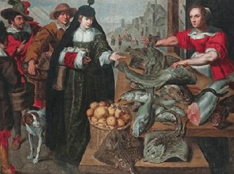 'La Vendedora de Pescado', de Frans Snyders