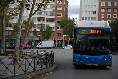 autobus circular emt madrid