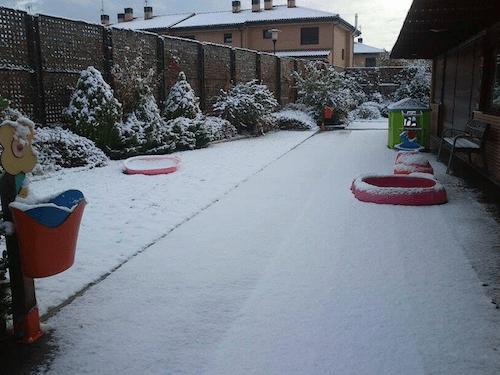 Nieve en Navalcarnero - L. García