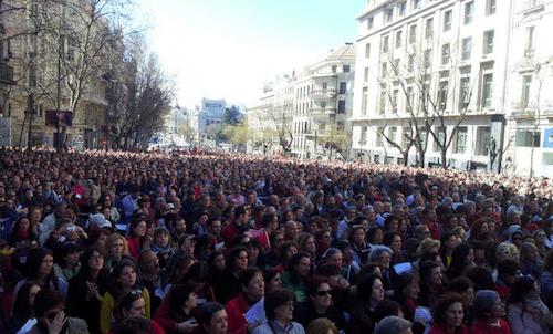 Miles de madrileños, este domingo 9 de marzo en defensa de la cultura - DC