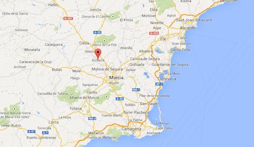 archena-murcia-maps