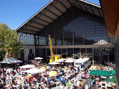 Terraza del Mercado de Motores, el 13 de abril de 2014 - MM