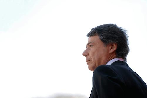 Ignacio González, este viernes 2 de mayo de 2014 - CAM