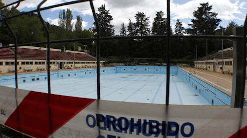 Piscina olímpica de verano del Lago (Casa del Campo)