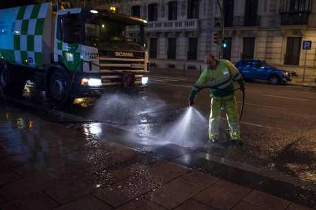 Servicio de Limpieza Ayuntamiento de Madrid