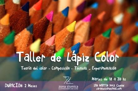 TALLER DE LAPIZ DE COLOR