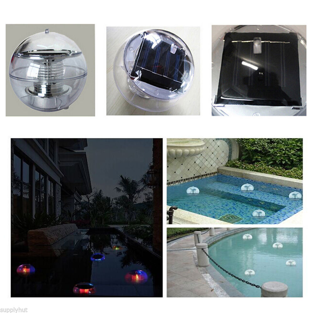 Led Color Changing Pond Lights
