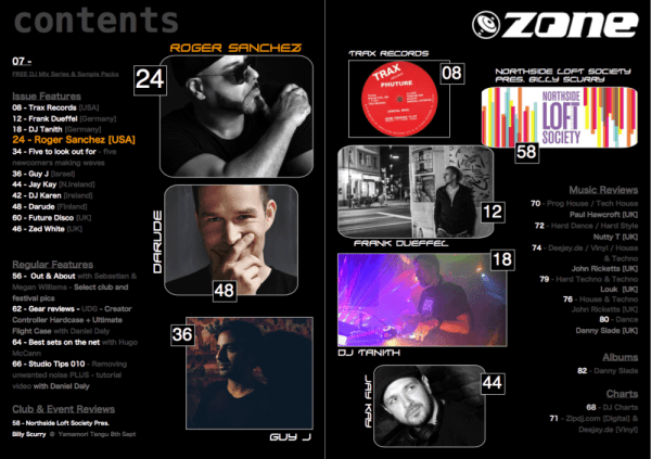 Zone Magazine 023 – Roger Sanchez Issue – Zone Magazine