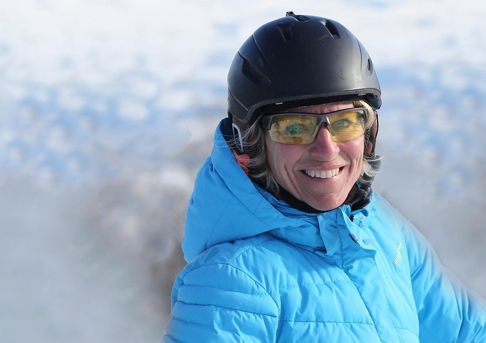 visage du ski johanne la roche zone ski