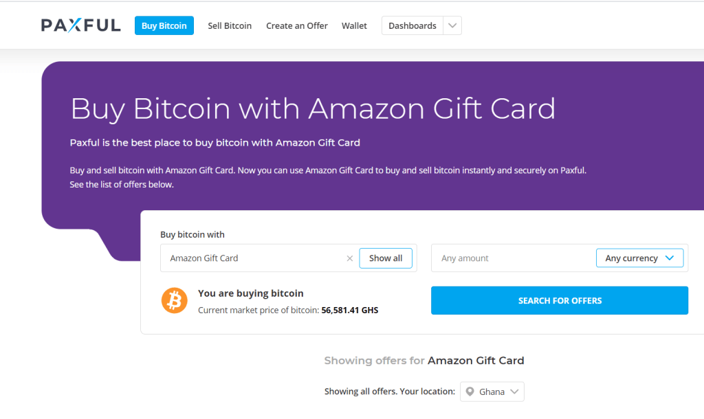 How to Exchange Gift card with Bitcoin