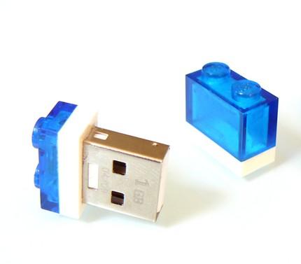 USB 1x2 Lego Plate