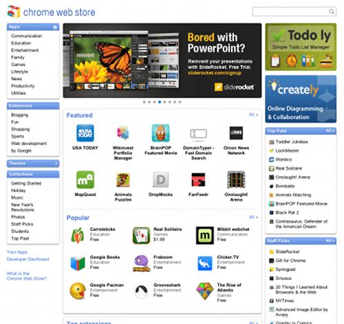 Chrome Web Store - Apps, Extensões e Temas