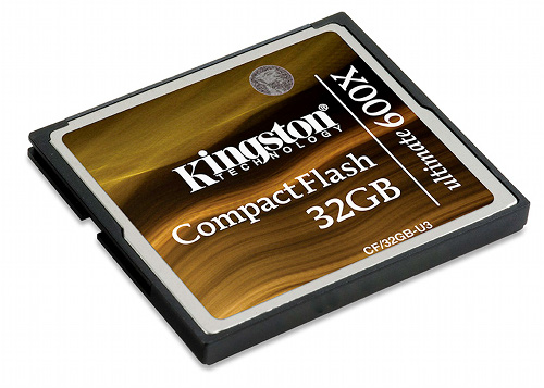 Kingston CompactFlash Ultimate 600x