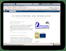 II ENCONTRO DE WEBLOGS