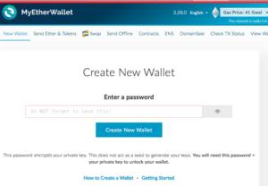 Comment créer un portefeuille ethereum