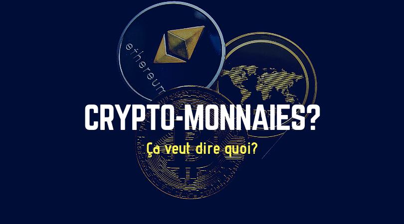 crypto-monnaie définition