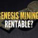 genesis mining rentable