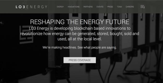 energie verte blokchain