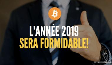 l'année 2019, bonne année pour les crypto-monnaies