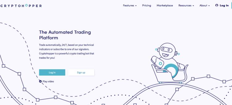 CRYPTOHOPPER bot trading crypto