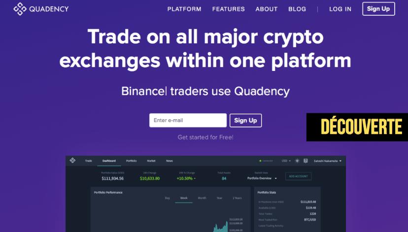 avis quadency plateforme de trading centralisé