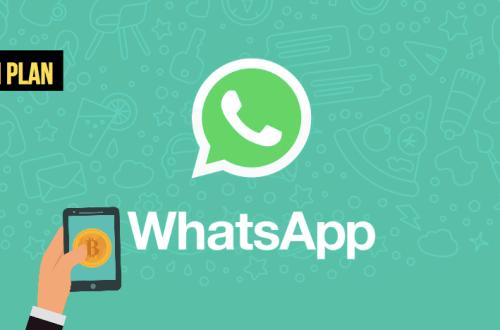 envoyer bitcoin et crypto avec whatsapp