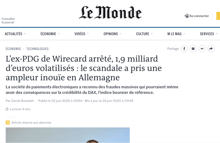 scandale wirecard
