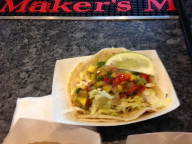 Walleye Taco