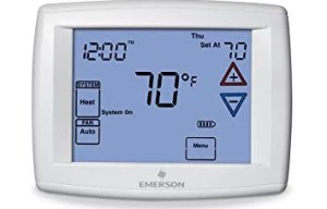 TTS & TTH - Touchscreen Thermostat for Single Stage and Heat Pumps