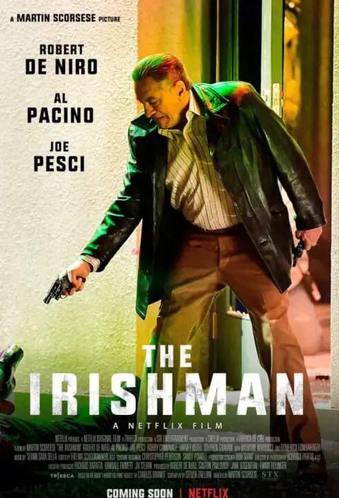 Conoce todo sobre The Irishman, la nueva película de Martin Scorsese en Netflix