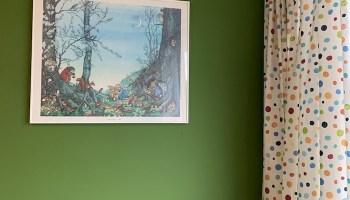 De babykamer versieren