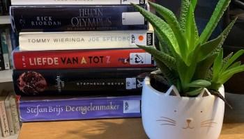Boeken die ik van de bibliotheek leende voor de vakantie