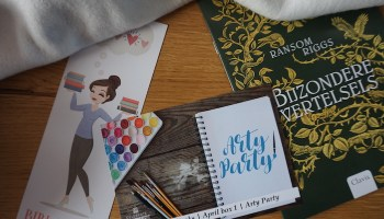 Celebrate Books Unboxing: Arty Party