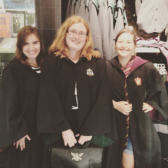 Harry Potter girls
