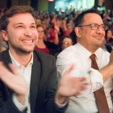 Gabriel Nadeau-Dubois et Andrés Fontecilla-Concha