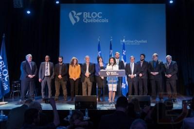 Martine Ouellet et ses député(e)s
