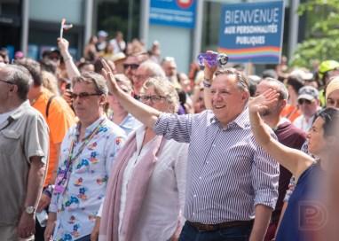 Le Premier ministre François Legault fut présent dans le contingent des personnalités publiques. Sa présence fut controversée en raison de son absence lors des éditions précédentes, ce qui est interprété comme un désintérêt par plusieurs.