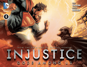 Injustice: Gods Among Us #4