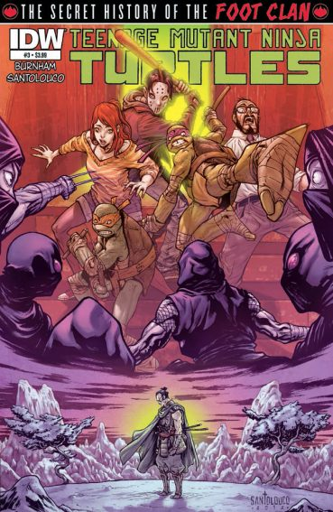 Teenage Mutant Ninja Turtles: Secret History of the Foot Clan #3